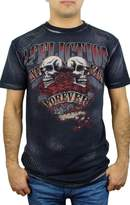Affliction Tainted Love Short Sleeve T-Shirt M