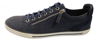Louis Vuitton Blue Leather Trainers