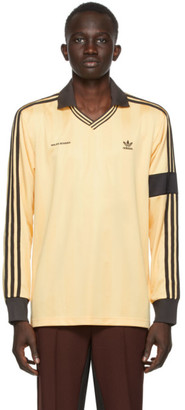 Wales Bonner Yellow adidas Originals Edition Football Long Sleeve Polo