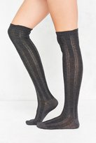 Out From Under Braided Ribbed Over-The-Knee Sock