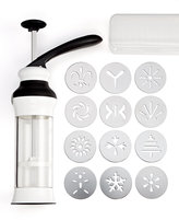 OXO 12 Disks Cookie Press with Storage Case