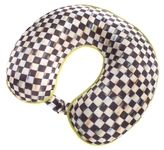 Mackenzie Childs Courtly Check Travel Pillow