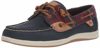 Sperry Womens Songfish Varsity Wool Boat Shoe