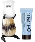 Menu men-u men-ü Barbiere Shave Brush and Stand - White