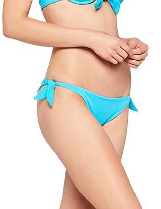 Iris & Lilly Women's Brazilian Bow Tie Bikini Bottoms,(Manufacturer size: 60 XS)