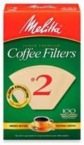 Melitta 100-Count Number 2 Super Premium Coffee Filters
