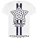 Moncler MonclerBaby Girls Ivory Star Top