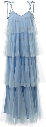 By Moumi Binkie Dress Cornflower Blue