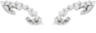 YEPREM White Gold Diamond Earrings