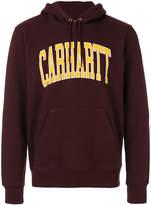 Carhartt logo hoodie