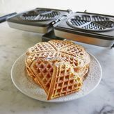 Sur La Table Croquade Heart Waffle Plate
