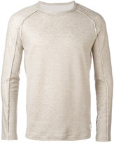 Dondup crew neck sweater - men - Cotton/Linen/Flax/Polyamide - M