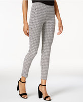 Bar III Printed Pull-On Pants, Created for Macy's