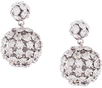 Jennifer Behr Crystal Sphere-Drop Earrings