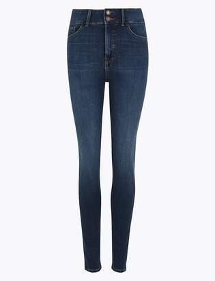 M&S CollectionMarks and Spencer Magic Sculpt High Waist Skinny Jeans