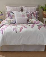 Sanderson Wisteria Falls King Comforter Set Bedding