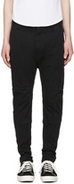 Helmut Lang Black Straps Trousers