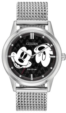 Citizen Disney by Eco-Drive Unisex Mickey Mouse Bracelet Watch 40mm