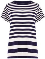 Warehouse Stripe Panel Cutabout Tee