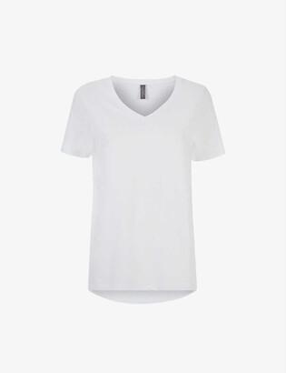 Sweaty Betty Refresh organic cotton-jersey T-shirt