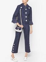Michael Kors Denim Wool-Jacquard Pants