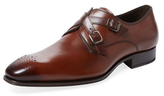 Mezlan Criss-Cross Monkstrap