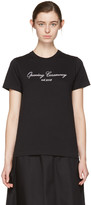 Opening Ceremony Ssense Exclusive Black Original Script T-shirt