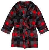 Petit Lem Holiday Plaid Plush Robe