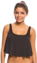 Coco Rave Swimwear Crochet Solid Jessica Crop Midkini Top (B/C Cup) 8140176