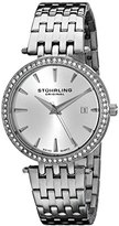 Stuhrling Original Symphony Soiree Garland Women's Quartz Watch with Silver Dial Analogue Display and Silver Stainless Steel Bracelet 579.01