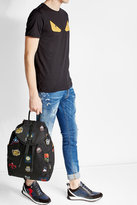 Alexander McQueen Printed Fabric Backpack