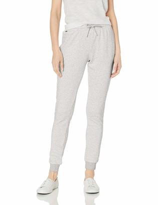 Lacoste Women's Fleece Drawstring Sweatpants