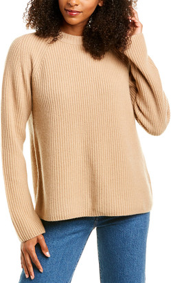 Vince Ribbed Cashmere Pullover