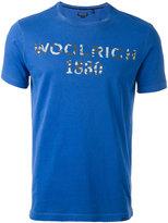 Woolrich logo print T-shirt - men - Cotton - S