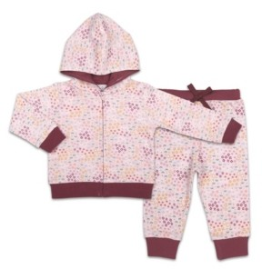 The Peanut Shell The Baby Girl Hoodie And Jogger Set