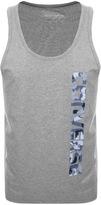 Converse Core Logo Vest T Shirt Grey