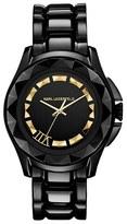 Karl Lagerfeld '7' Faceted Bezel Bracelet Watch, 36mm