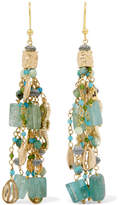 Rosantica Chela Gold-tone Beaded Earrings - one size