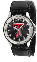 Game Time Veteran Series Texas Tech Red Raiders Silver Tone Watch - COL-VET-TXT