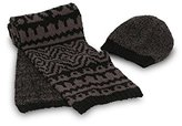 Barefoot Dreams CozyChic Hat and Scarf Set (Midnight/)