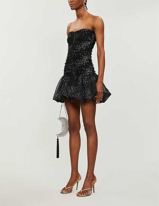 Maje Roxanne tulle mini dress