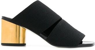 Proenza Schouler Elastic Mid Heel Slides