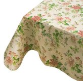 "Waverly 52"" x 52"" Fabric Tablecloth, Lauren Canyon Pear"