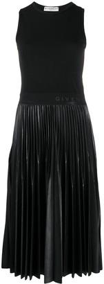 Givenchy Midi Pleated Dress