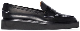 ATP ATELIER Monsano flatform leather loafers