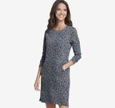 Johnston & Murphy Leopard-Print Ponte Dress