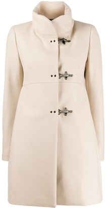 Fay Funnel Neck Midi Coat