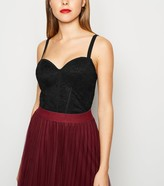 New Look Lace Bustier Crop Top