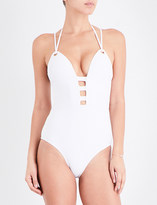 Jets Perspective moulded swimsuit