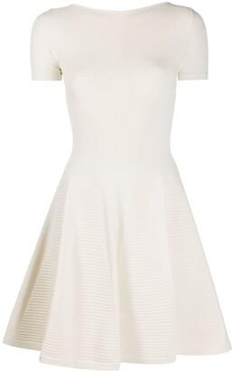 DSQUARED2 Ribbed Detail Short Dress